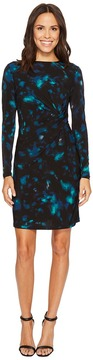 Ellen Tracy Twisted Waist Dress Women's Dress