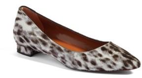 Aquatalia Women's Perla Weatherproof Genuine Calf Hair Ballerina Shoe