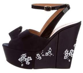 Alexa Wagner Labelle Embroidered Wedges