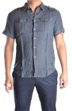 Dekker Men's Grey Linen Shirt.
