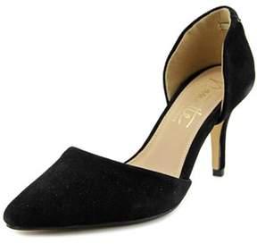 Nanette Lepore Scarlet Pointed Toe Suede Heels.