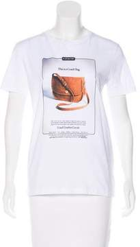Rodarte Coach x Short Sleeve Graphic Print T-Shirt