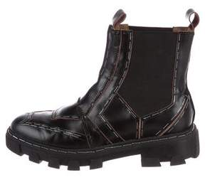 Balenciaga Topstitch Chelsea Boots