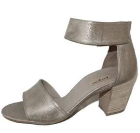 Paul Green Pewter Ankle Sandal