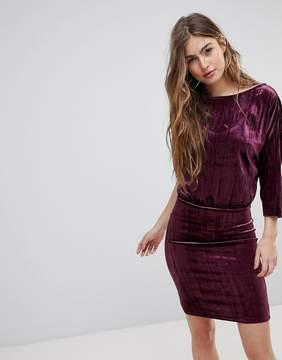 Blend She Crush Velvet Party Dress