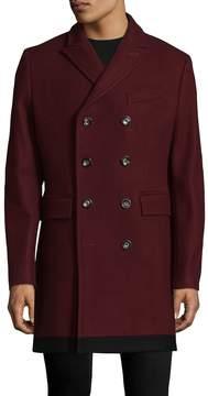 J. Lindeberg Men's Wolger Winter Wool Coat