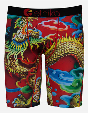 Ethika Fire Dragon Staple Mens Boxer Briefs