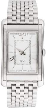 Bedat & Co No7 Stainless Steel Beige Dial Quartz 26 x 42mm Men