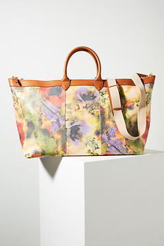 Anthropologie Florina Leather Weekender