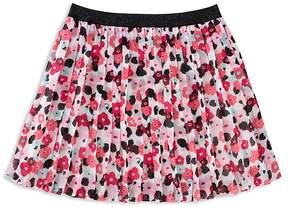 Kate Spade Girls' Pleated Floral Skirt - Big Kid