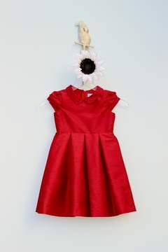 Luli & Me Collar Holiday Dress