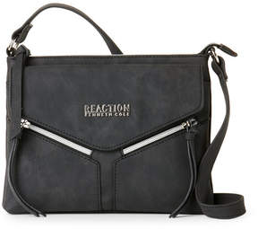 Kenneth Cole Reaction Black Columbus Mid Crossbody