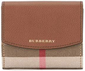 Burberry House check wallet - BROWN - STYLE