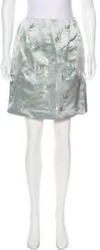 Tahari Brocade Mini Skirt