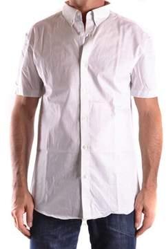 Selected Men's White Cotton Shirt.