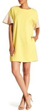 ECI Short Sleeve Colorblock Dress