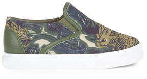Burberry Printed slip-on shoes