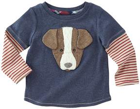 Mud Pie Puppy Long Sleeve Shirt Boy's Clothing