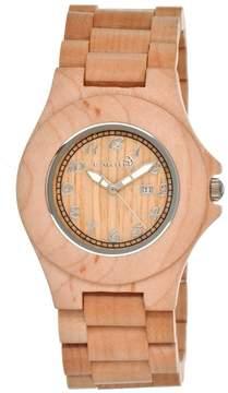 Earth Watches Xylem Khaki Tan Unisex Watch