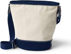 Lands' End Lands'end Canvas Zipped Bucket Bag