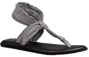 Sanuk Women's Yoga Sling Ella Metallic Thong Sandal.