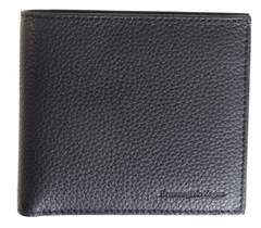 Z Zegna Men's Black Leather Wallet.