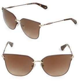 Balmain 60MM Cat Eye Sunglasses