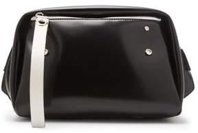 Proenza Schouler Oversized Cire Belt Bag - Womens - Black