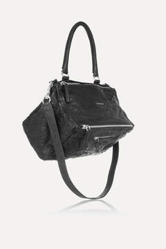 Givenchy Medium Pandora Bag In Washed-leather - Black