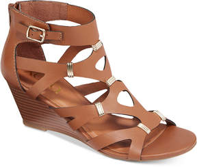 XOXO Sarelia Wedge Sandals Women's Shoes