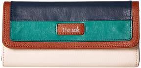 The Sak Iris Flap Wallet Wallet Handbags