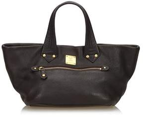 MCM Pre-owned: Leather Handbag.