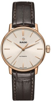 Rado Women's Coupole Classic Automatic Leather Strap Watch, 31.8Mm