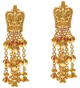 Elizabeth Taylor The Goldtone Ear Pendants