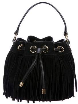 Milly Suede Bucket Bag