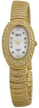 Burgi Gold-tone brass Ladies Watch