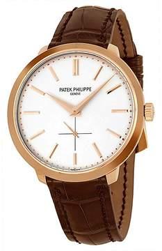 Patek Philippe Calatrava 5123R-001 18K Rose Gold & Leather 38mm Watch