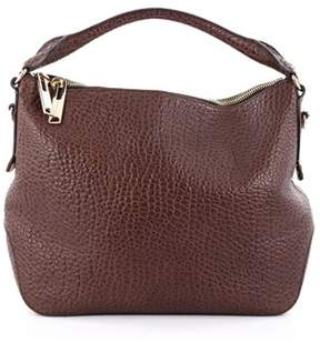 Burberry Pre-owned: Ledbury Convertible Hobo Heritage Grained Leather Small. - BROWN - STYLE