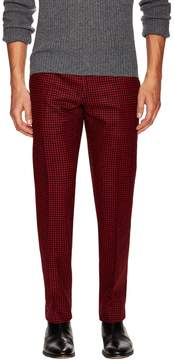 Christian Dior Men's Printed Flat Front Trousers