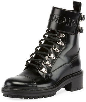Balmain Cartel Leather Ranger Boot