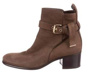Louis Vuitton Suede Ankle Boots