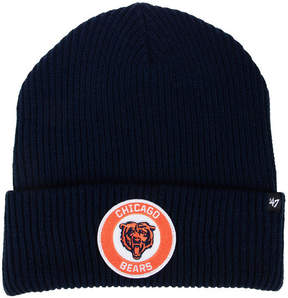 '47 Chicago Bears Ice Block Cuff Knit Hat
