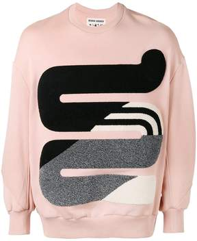 Henrik Vibskov appliqué sweater