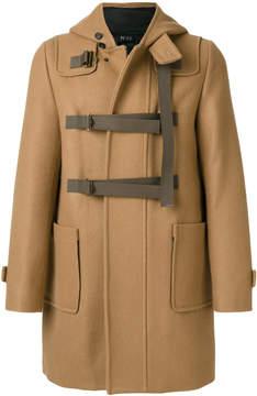 No.21 hooded zipped coat