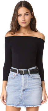Commando Ballet Off Shoulder Bodysuit