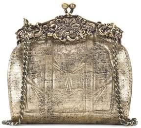 Patricia Nash Rosaria Glitter Metallic Leather Evening Bag