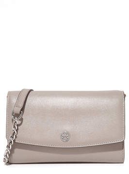 Tory Burch Parker Chain Wallet - DUST STORM - STYLE