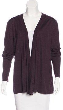Agnona Wool Open-Front Cardigan