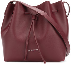 Lancaster bucket bag with detachable pouch