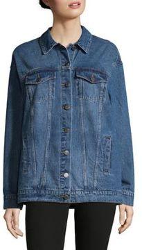 Noisy May Cotton Denim Jacket